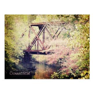 Connecticut Bridge Postcard