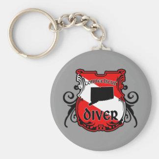 Connecticut Diver Keychains