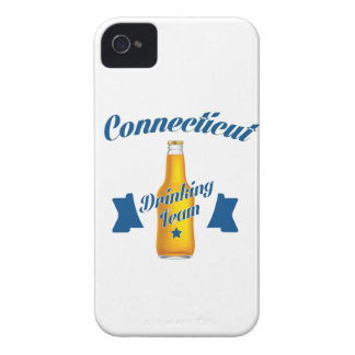 Connecticut Drinking team iPhone 4 Case-Mate Case