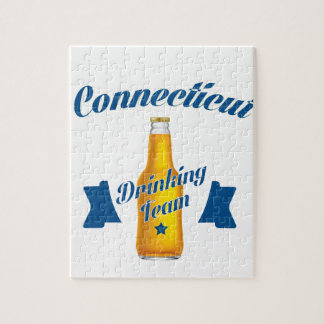 Connecticut Drinking team Jigsaw Puzzle