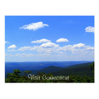 Connecticut Elevated Postcard