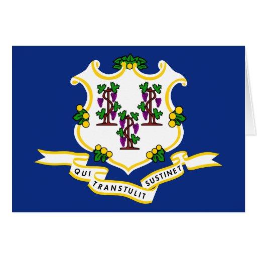 Connecticut Flag Cards