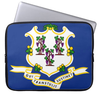 CONNECTICUT FLAG LAPTOP SLEEVE