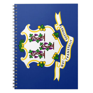 CONNECTICUT FLAG NOTEBOOK