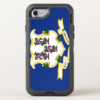 CONNECTICUT FLAG OtterBox DEFENDER iPhone 8/7 CASE