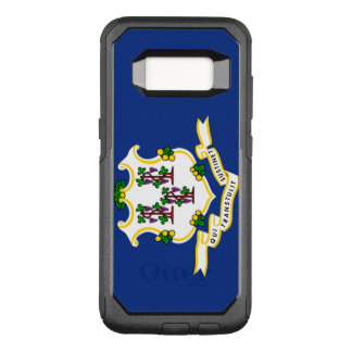 Connecticut Flag Otterbox Samsung Galaxy S8 Case