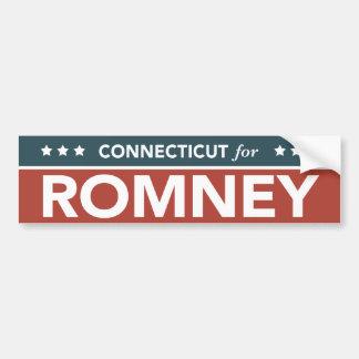 Connecticut For Mitt Romney Ryan Bumper Sticker