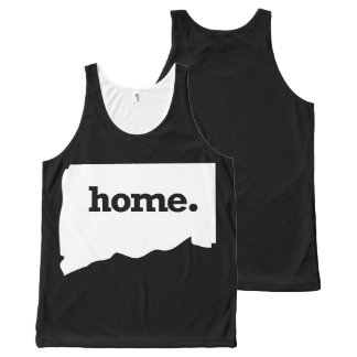 Connecticut Home All-Over Print Tank Top