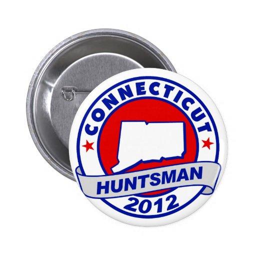 Connecticut Jon Huntsman Button