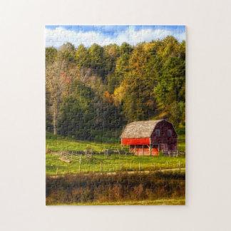 Connecticut Landscape. Jigsaw Puzzle