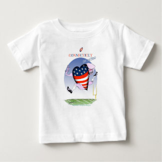 connecticut loud and proud, tony fernandes baby T-Shirt