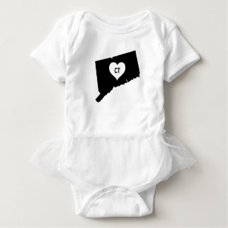 Connecticut Love Baby Bodysuit