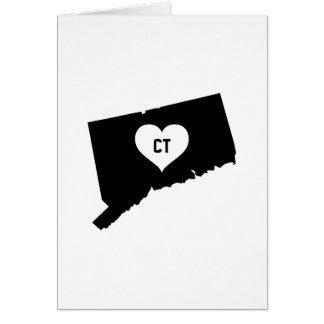 Connecticut Love Card