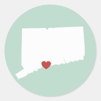 Connecticut Love - Customizable Sticker