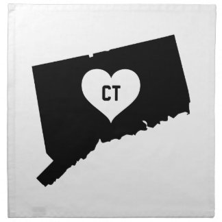 Connecticut Love Napkin