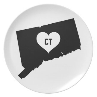 Connecticut Love Plate