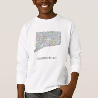 Connecticut map T-Shirt