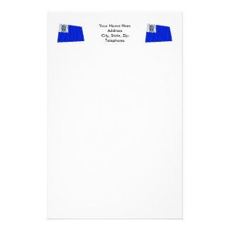 Connecticut Privateer Flag Custom Stationery