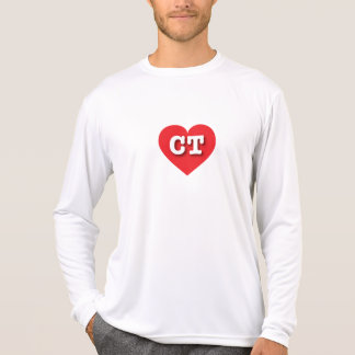 Connecticut Red Heart - Big Love T-Shirt