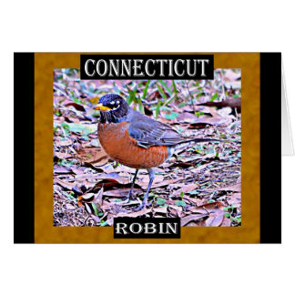 Connecticut Robin (American Robin) Greeting Card