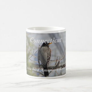 Connecticut state bird photo mug