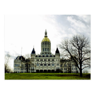 Connecticut State Capitol- Postcard