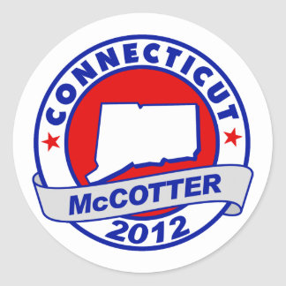 Connecticut Thad McCotter Stickers