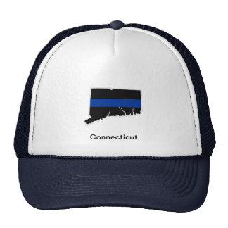 Connecticut Thin Blue Line Trucker Hat