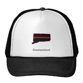 Connecticut Thin Red Line Cap