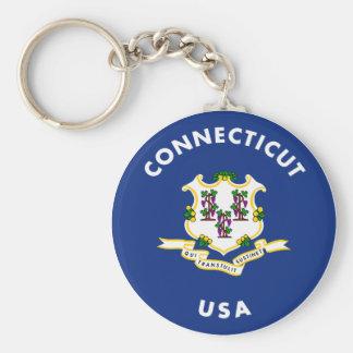 Connecticut USA Key Ring
