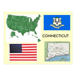 Connecticut, USA Postcard