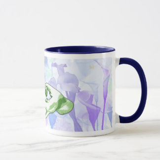 Connection & Cala Lilies Mug