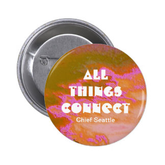 connections 6 cm round badge