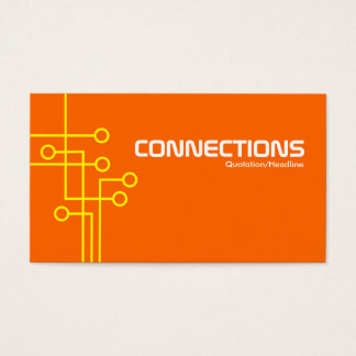 Connections - Yellow and Orange