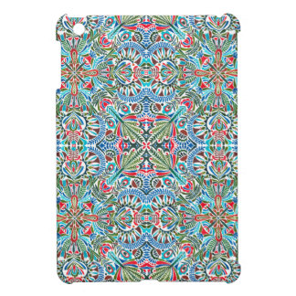 Connectivity - endless pattern iPad mini cover