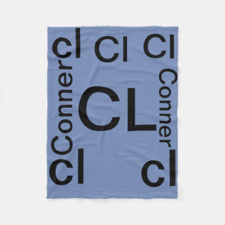 Conner lechocki (soft blanket) fleece blanket