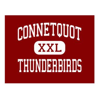 Connetquot - Thunderbirds - High - Bohemia Postcard