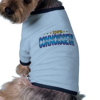 Connoisseur Star Tag v2 Dog Tee Shirt
