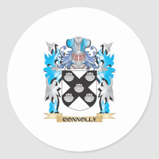 Connolly Coat of Arms - Family Crest Stickers