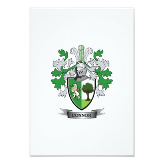 Connor Coat of Arms Card