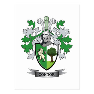 Connor Coat of Arms Postcard