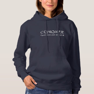 Conquer Equilibrium State of Mind Hoodie