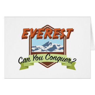 Conquer Everest Card