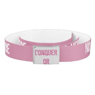 Conquer fear belt