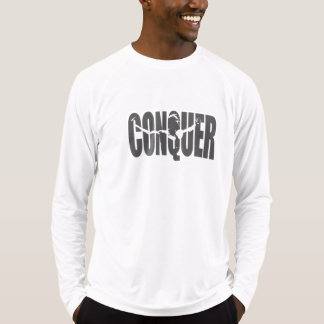 Conquer Sport-Tek Fitted Performance Long Sleeve T-Shirt