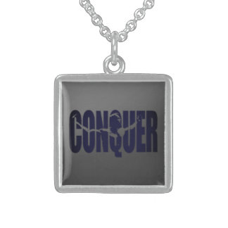 Conquer Sterling silver Necklace
