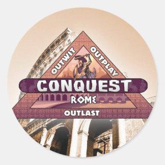 Conquest: Rome Logo Sticker