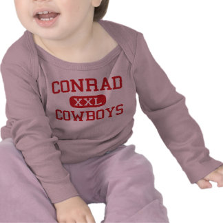 Conrad - Cowboys - High School - Conrad Montana Tshirts