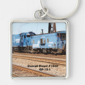 Conrail Diesel #1633 GP-15-1 Key Ring