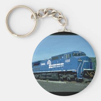 Conrail new GE widecab C40-B #6065_Trains Key Ring